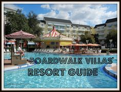 Disney's Boardwalk Villas Resort Guide from themouseforless.com #DisneyWorld #Vacation
