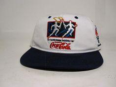 80bb586ff9b vintage starter 1996 olympic coca cola snapback vtg mens  Starter Coca  Cola