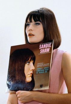 """Sandie Shaw: she had a very sexy girly voice, loved all her early hits, """"Long live Love"""", """"Monsieur DuPont"""", """"Puppet on a String"""""""