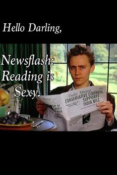 Yes, yes it is baby Hiddles :) I honestly have never seen that picture of him before!