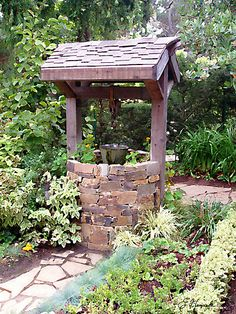 wishing well in my yard