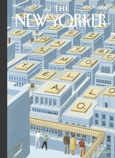 """The New Yorker - Monday, April 10, 2006 - Issue # 4162 - Vol. 82 - N° 8 - Cover """"View From the Top"""" by Bruce McCall"""