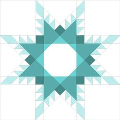 PP Feathered Star Pattern 14in