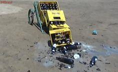 Caminhoneiro tem carga de cerveja roubada por grupo em Cariacica