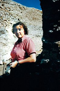"""Kathleen Kenyon -Most influential female Archaeologist - Author of 'Digging up Jericho.' Ms. Kenyon acknowledged that the site was """"blackened or reddened by fire...in most rooms the fallen debris was heavily burnt."""" Unfortunately Ms. Kenyon died before discovering the one thing she said would confirm the site to be Jericho. It was the Cypriot ware pottery which eluded Kenyon as she dug on the poor side of town, the pottery was later discovered on the affluent side by archaeologist Bryant…"""