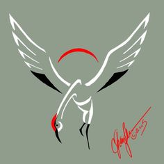 Crane Tattoo by MommySpike on DeviantArt