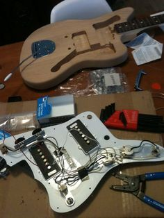 Build an Electric Guitar Yourself – The Process – Step By Step Photos