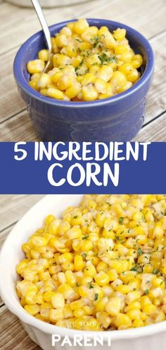 Garlic Parmesan Corn is the perfect side dish for any occasion It s easy to make and only needs 5 ingredients Serve it with dinner for Christmas Thanksgiving and more It pairs well with chicken steak and even hamburgers Side Dishes For Chicken, Best Side Dishes, Vegetable Side Dishes, Side Dish Recipes, Side Dishes For Spaghetti, Steak Side Dishes Easy, Side Dishes With Hamburgers, Sides With Chicken, Side Dishes