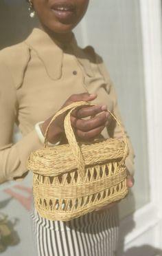 Anaïse | Maria La Rosa Straw Fish Basket