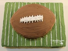Score A Touchdown With This Football Cake Pattern Heads Cash Prize Cut Up