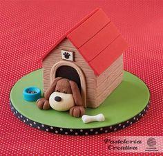 Fascículo 83 de Pasteleria Creativa- Tarta Perro