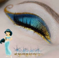 THANK YOU. make up INSPIRED by disney princess and/or copying their actual looks without drawing an entire scene on your eyelids. the difference between make up and face paint. Cando Claudia Disney make up series