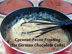 Meat & Potatoes, Recipes and More!: Coconut-Pecan Frosting (for German Chocolate Cake)