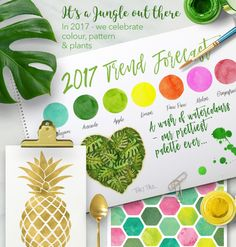 It's A Jungle Out There! @ www.macaroon.co.za - we celebrate colour, pattern and plants with a wash of watercolours, a candy crush of colour, a glint of metallic and a boho blend of hot tropics, jungle leaves, bright birds and stylish shapes - You'll be hypnotised in the jungle this Summer!