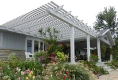 When these front yard pergolas are made in the latest style dwelling, then latest and unique styles are selected, which can resemble with the rest of the building so that it can create uniqueness and wonderful look of the home. Timber made pergola in the front yard are seemed lavish and beautiful addition of the house. People arrange seating according to the style of pergola, which shows their artistic sense.