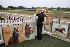 NEW YORK: PHOTO GALLERY: American Pharoah's historic day at Belmont | Horse Racing | Kentucky.com