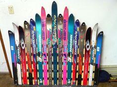SKI BED FRAME HEADBOARD!!! Or snow boards!