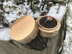 Wedding Ring Box, Wedding Boxes, Mens Wood Wedding Bands, Proposal Ring Box, Wooden Ring Box, Anniversary Gifts For Him, Wood Resin, Wood Rings, Resin Pendant