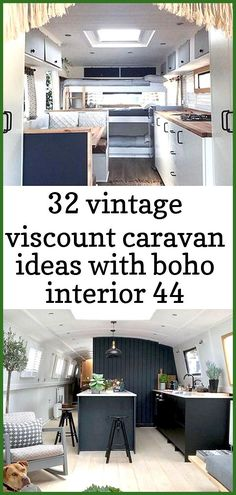 32 vintage viscount caravan ideas with boho interior 44 32 Vintage Viscount Caravan Ideas With Boho Interior. Painting the exterior needs a bit of know-how, since for the best results you must spray paint. Rather than having a white or cream coloured exte Vintage Camper Interior, Motorhome Interior, Cafe Interior, Interior Styling, Interior Ideas, Caravan Decor, Caravan Ideas, Viscount Caravan, New Paint Colors