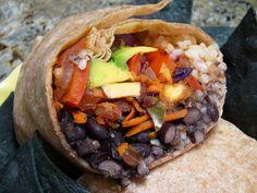 Black Bean, Lentil, and Brown Rice Burrito Fillin'
