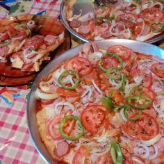 Pizza caseira°