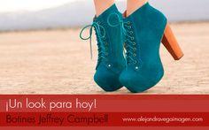 Feliz día seguidores, hoy les traigo unos zapatos que se han robado las miradas. Hablaremos de los botines Jeffrey Campell.