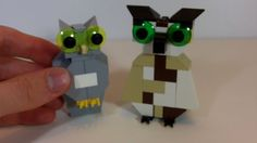 How To Build: LEGO Owls