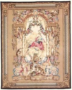 Diana Wall Tapestry - Portieres des Dieux Series Tapestry
