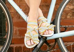 Slide into these eco-chic summer flats. #etsyfinds