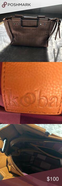 74657ad0b NWOT Kooba Caramel Handle Bag Caramel Kooba handbag. Is missing the long  strap. Has