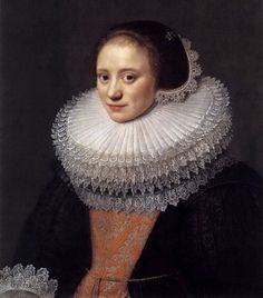 Michiel Jansz van Miereveldt (died 1641) Portrait of a Woman, 1628
