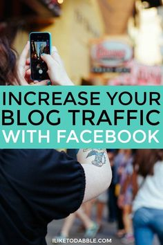 How to increase your blog traffic with facebook. Boost your blog. Boost you blog audience. Blogging with facebook. Splendid Blogger.