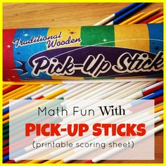 Homegrown Learners - Home - Math Fun with Pick-UpSticks