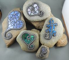 mosaic rocks - Google Search