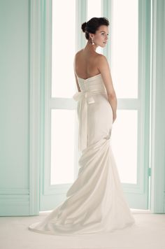 Gown 1655   2012 Spring Collection   Mikaella Bridal   Available Colours : Diamond (back)