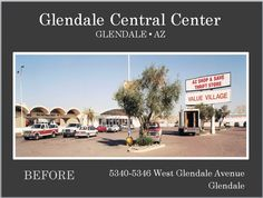 This is Glendale Central Center in Glendale AZ prior to its renovation by Michael A Pollack.