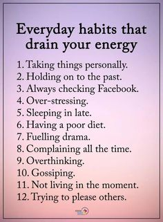 Quotes Sayings and Affirmations Everyday habits draining your life Motivacional Quotes, Truth Quotes, Self Care Activities, Self Improvement Tips, Life Advice, Self Development, Positive Affirmations, Self Help, Life Lessons