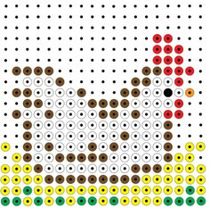Bobble Stitch, Melting Beads, Hama Beads, Pearl Beads, Beading Patterns, Pixel Art, Needlepoint, Jewelry Making, Pearls