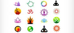 Vector Logo Set with Chinese Ornaments | Free Logo Design Templates