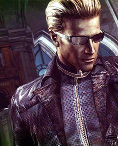 Albert Wesker Albert Wesker, Leon S Kennedy, Umbrella Corporation, Resident Evil Game, Fangirl, Video Games, Characters, Chimera, Ratchet