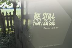 Be Still and Know : April Boyer shares about the importance of finding quiet time alone with God| Blogs by Christian Women