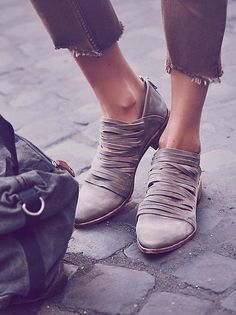 Free People Lost Valley Ankle Boot #AnkleBoots