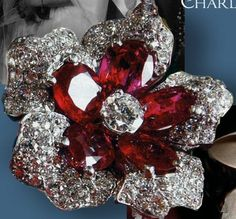Ruby Diamond Set of Grand Duchess Josephine-Charlotte of Luxemburg