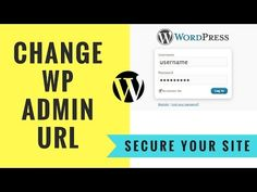 How to Hide WordPress Admin Page URL | Custom Login Wordpress Plugin Tutorial - http://www.howtowordpresstrainingvideos.com/wordpress-security-plugins/how-to-hide-wordpress-admin-page-url-custom-login-wordpress-plugin-tutorial/