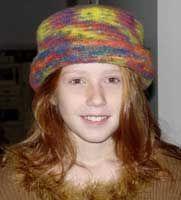 Free Knitting Pattern: Sweet 16 Knit & Felt Hat