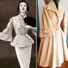 """Résultat de recherche d'images pour """"veste femme haute couture 1950"""""""