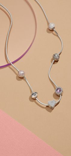 Pandora Jewelry OFF!> Express the essence of her with the PANDORA Essence Collection necklace carefully crafted from sterling silver. Pandora Jewelry Box, Pandora Necklace, Pandora Bracelets, Charm Jewelry, Jewelry Art, Onyx Necklace, Jewelry Bracelets, Jewelery, Jewelry Accessories