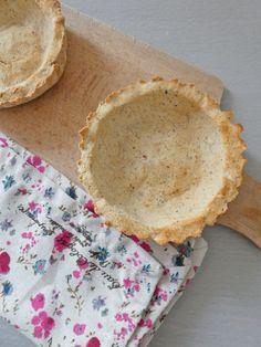 Fond  de tarte sans céréales, sans oeufs   ( Vegan, sans gluten )