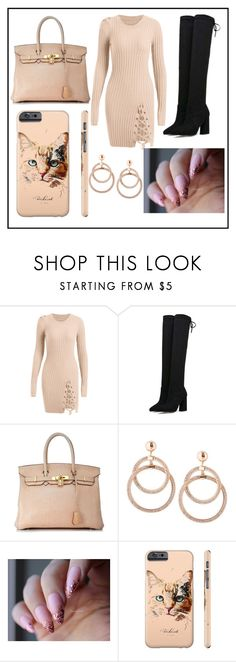 """""""fall outfit"""" by fashionqueen886 ❤ liked on Polyvore featuring Hermès and Kitty Kat"""