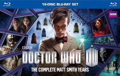 Doctor Who: The Complete Matt Smith Years (Blu-ray Disc, 2014, 16-Disc Set) New #disc #years #smith #matt #complete #doctor